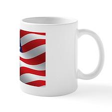 American Flag Rectangle Mug