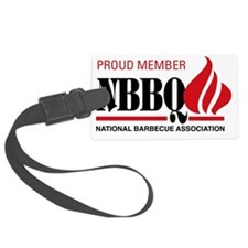 NBBQA Proud Member 2010-2011 Luggage Tag