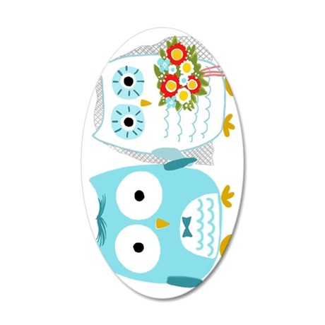owlsvert 35x21 Oval Wall Decal
