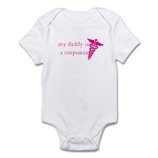 Unique Military corpsman Infant Bodysuit