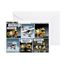 2L0027 - Cessna 3BT stand by! Greeting Card