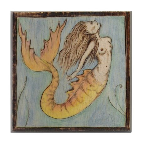 Sea Witch Tile Coaster