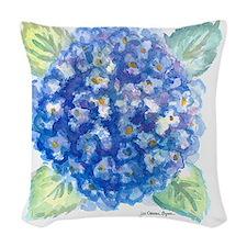 Hydrangea 1 Woven Throw Pillow