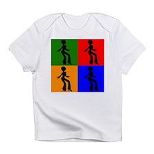 Disco Woman Pop Art Infant T-Shirt