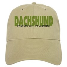 Dachshund ADVENTURE Baseball Cap