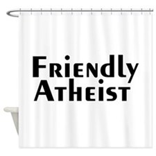 friendlyatheist2.png Shower Curtain