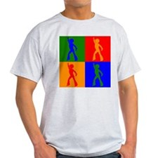 Disco Dancer Pop Art T-Shirt