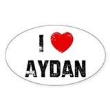 I * Aydan Oval Decal