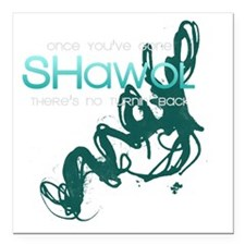 "Shawol Square Car Magnet 3"" x 3"""