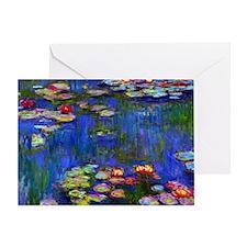 Laptop Monet WL1916 Greeting Card