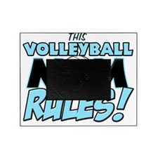 This Volleyball Mom Rules Picture Frame