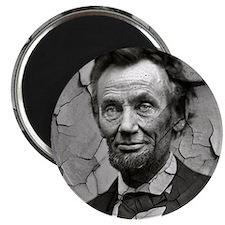 Worn, Abe Lincoln, Magnet