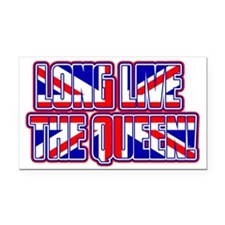 Long Live The Queen! Rectangle Car Magnet