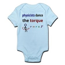 Physicists dance the torque Body Suit