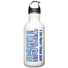 Poster Teach Water Bottle
