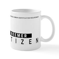 Beemer, Citizen Barcode, Mug