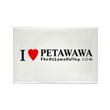 I heart Petawawa Rectangle Magnet (100 pack)
