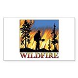 Wildfire Rectangle Decal