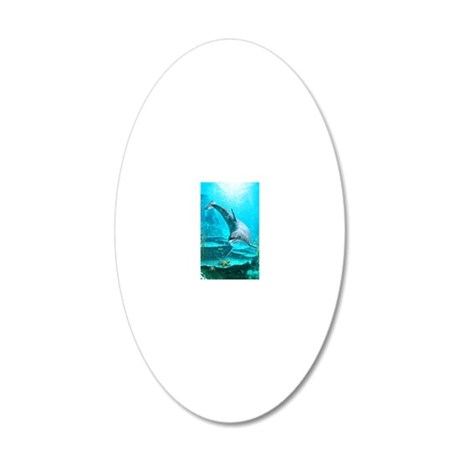 d_magnet_rectangle 20x12 Oval Wall Decal