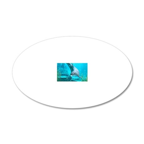 d_hitch_cover 20x12 Oval Wall Decal