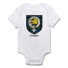 Campbell Clan Crest Tartan Infant Bodysuit