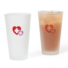 futureNurse1B Drinking Glass