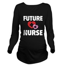 futureNurse1B Long Sleeve Maternity T-Shirt
