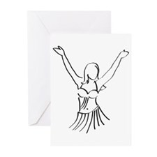 Joyful Dancer Greeting Cards (Pk of 10)