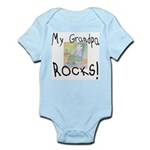 Grandpa Rocks 2 Infant Bodysuit