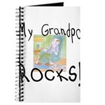 Grandpa Rocks 2 Journal