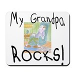 Grandpa Rocks 2 Mousepad
