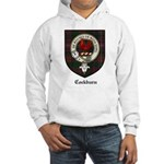 Cockburn Clan Crest Tartan Hooded Sweatshirt