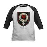 Cockburn Clan Crest Tartan Kids Baseball Jersey