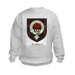 Cockburn Clan Crest Tartan Kids Sweatshirt