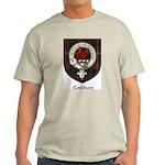 Cockburn Clan Crest Tartan Light T-Shirt