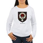 Cockburn Clan Crest Tartan Women's Long Sleeve T-S