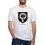 Colquhoun Clan Crest Tartan Fitted T-Shirt