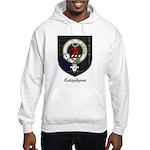 Colquhoun Clan Crest Tartan Hooded Sweatshirt
