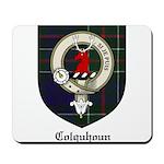 Colquhoun Clan Crest Tartan Mousepad