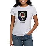 Colquhoun Clan Crest Tartan Women's T-Shirt