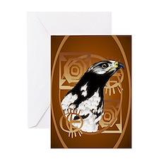 OvalJewelA Bird Of The Serengeti Greeting Card
