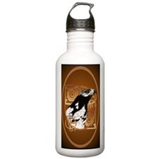 OvalJewelA Bird Of The Water Bottle