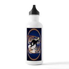 Oval Jewel A Bird Of T Water Bottle