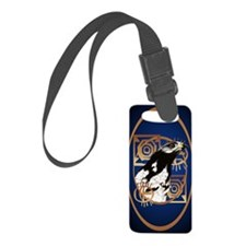 Oval Jewel A Bird Of The Serenge Luggage Tag