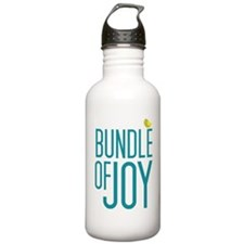 Bundle of Joy in Blue Water Bottle