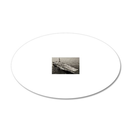 shangrila cva rectangle magn 20x12 Oval Wall Decal