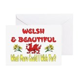 ...Welsh & Beautiful... Note Card (Pk of 10)