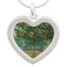 H25 Silver Heart Necklace