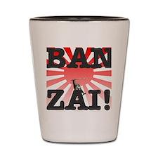BANZAI - RISING SUN Shot Glass