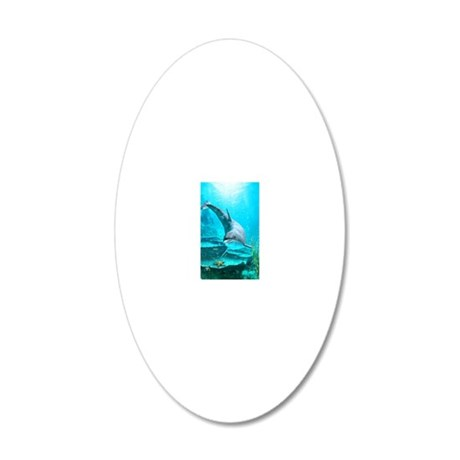 d_ornament_oval 20x12 Oval Wall Decal